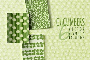 Cucumbers-6-Seamless-Patterns-cover