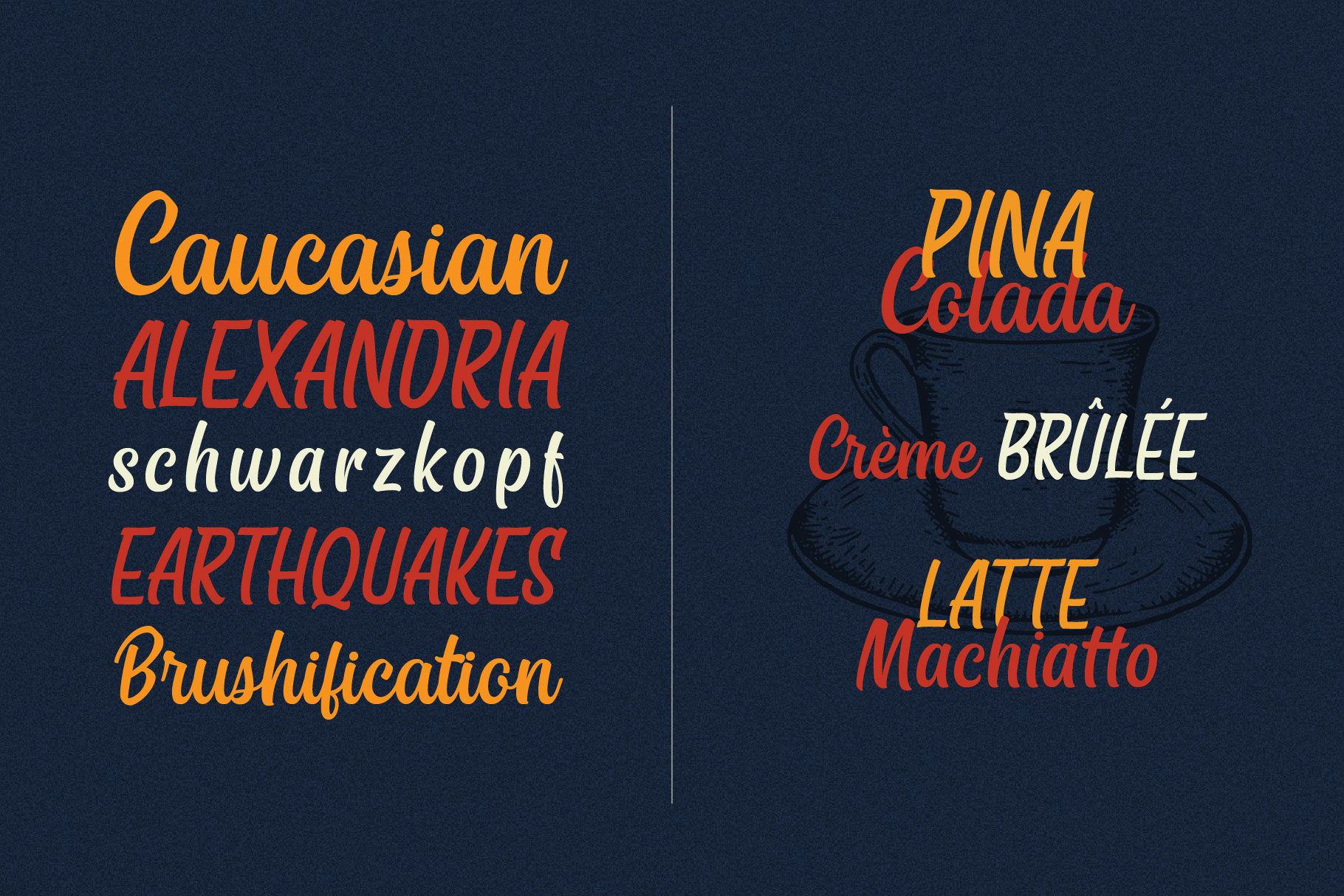 East Side Brush Fonts