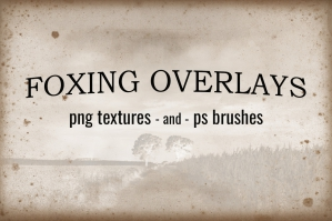 Foxing-Overlays-Textures-And-Brushes-cover