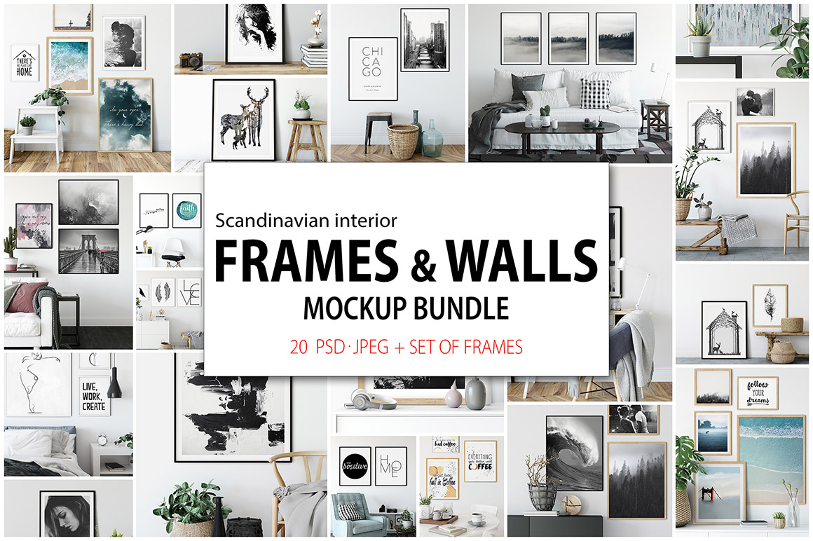 Frames & Walls Scandinavian Collection