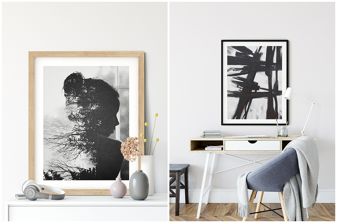 Frames & Walls Scandinavian Bundle