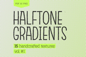 Halftone Gradients Vol.1 Texture Pack