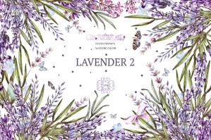 Hand-Drawn-Watercolor-Lavender-Flowers-Pack-cover