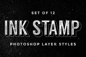 Ink-Stamp-Photoshop-Layer-Styles-cover