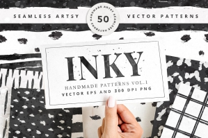 Inky-50-Seamless-Vector-Patterns-cover