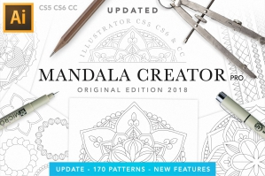 Mandala-Creator-For-Illustrator-Original-Edition-cover