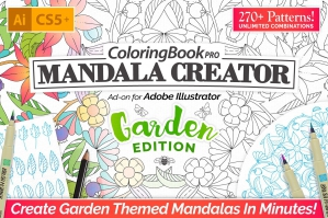 Mandala-Illustration-Creator-Garden-Edition-cover