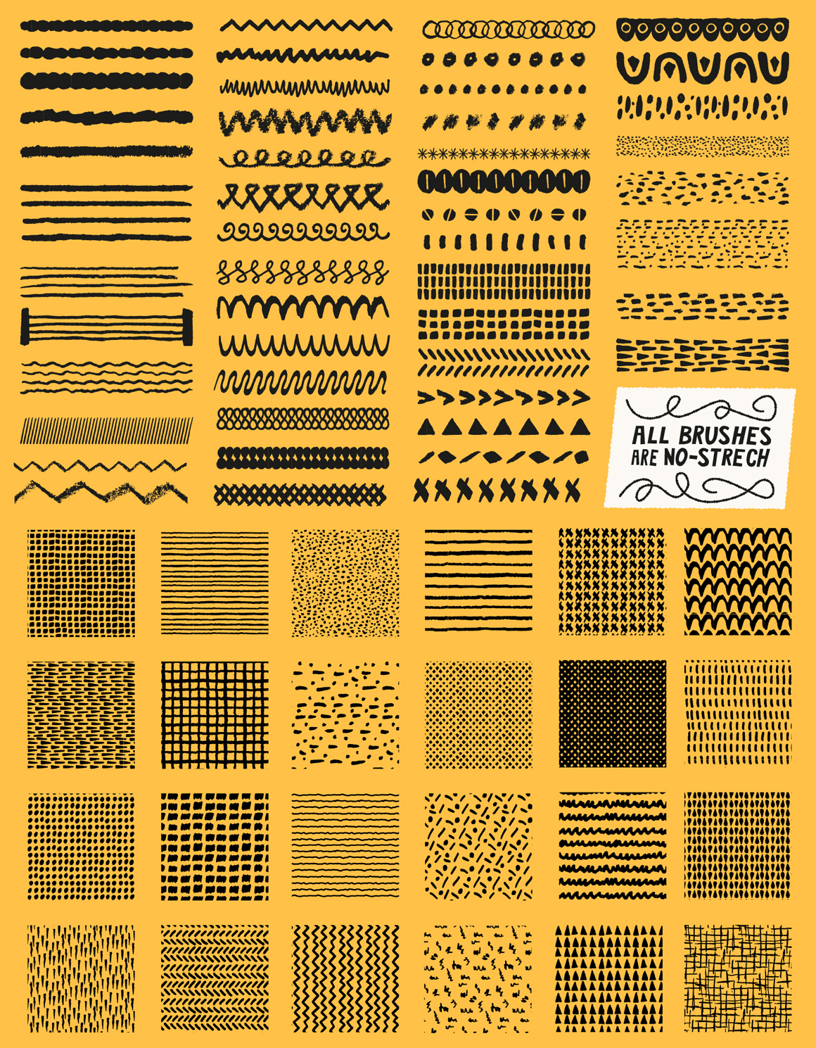 Patts Brush Collection for Adobe Illustrator