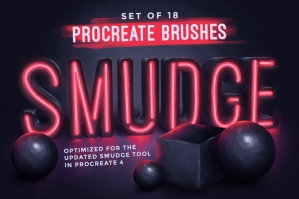 Procreate-Smudge-Brushes-cover