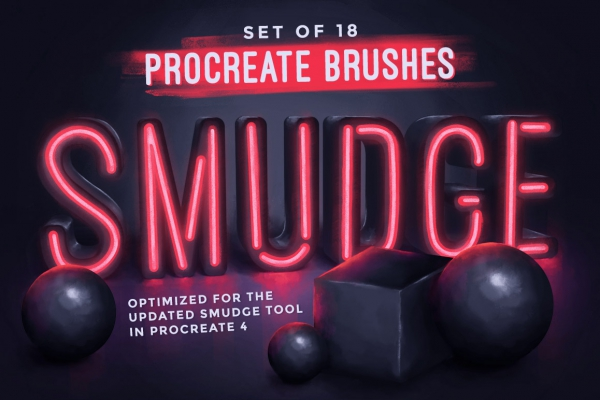 Procreate Smudge Brushes
