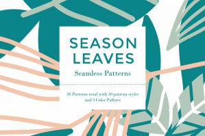 Season-Leaves-Seamless-Pattern-cover