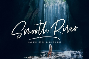 Smooth-River-Font-cover