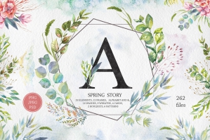 Spring-Story-Watercolor-Set-cover