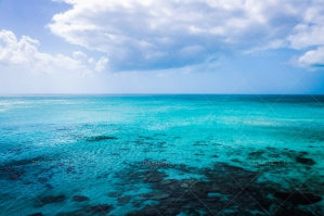 Crystal Blue Water In The Caribbean No. 4