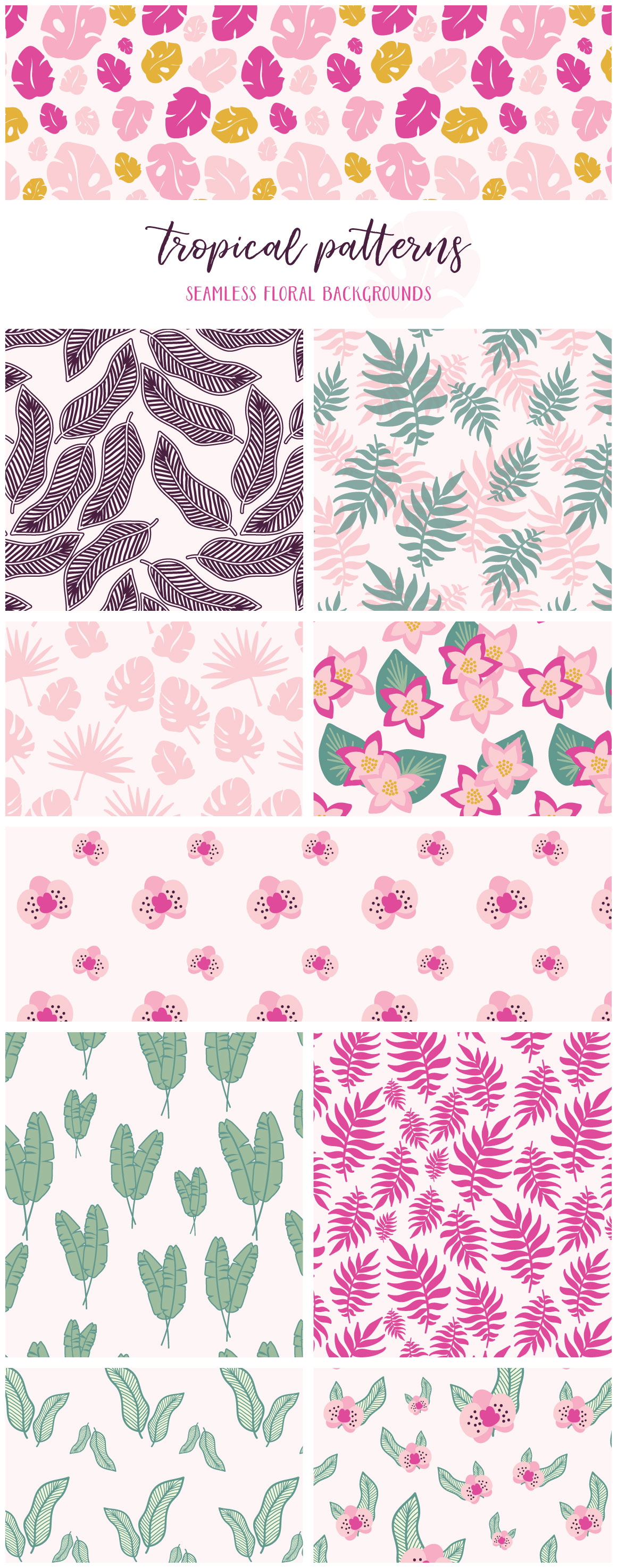 Tropical Patterns