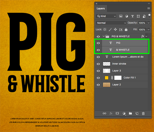 Pig and Whistle Packaging Design