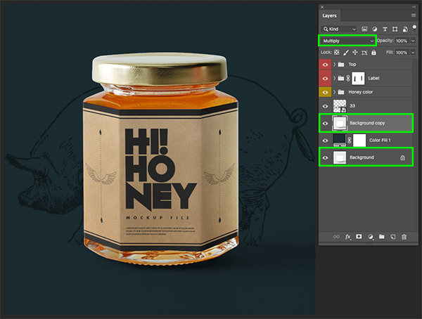 How to Create a Type Driven Packaging Design in Photoshop