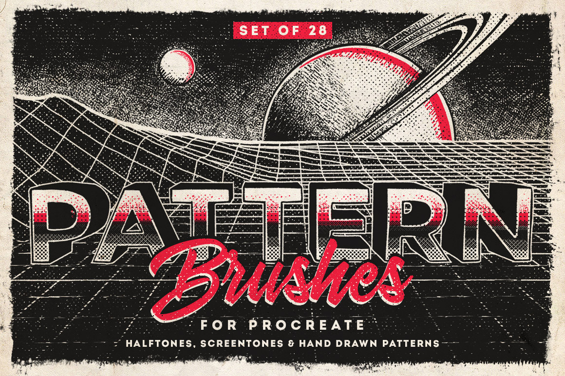 Procreate Pattern Brushes