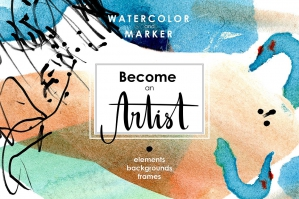 Be-An-Artist-Watercolor-Decor-Kit-cover