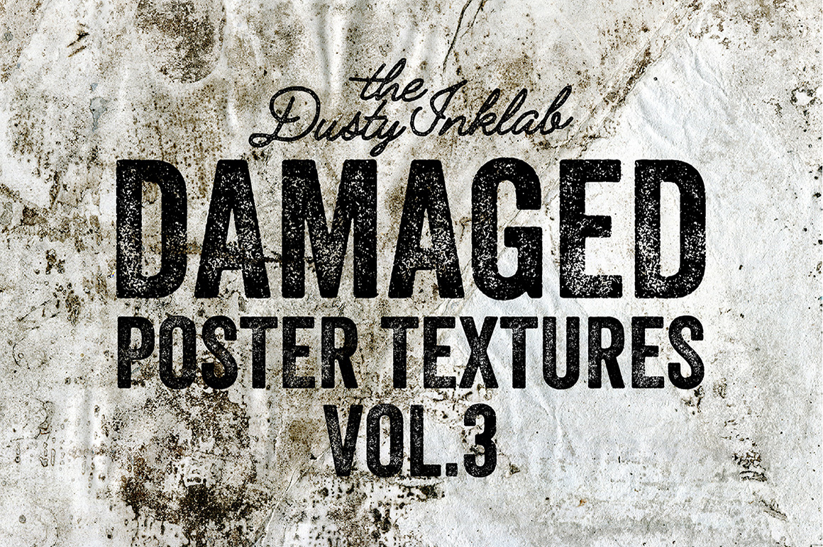 Damaged Poster Textures Vol. 3