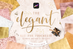 Elegant-Kit-For-Procreate-cover