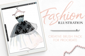 Fashion-Illustration-Toolset-For-Procreate-cover