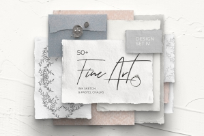 Fine Art IV Modern Design Set - Pastel Chalks