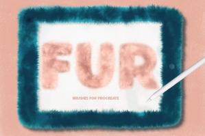 Fur-Brushes-For-Procreate-cover