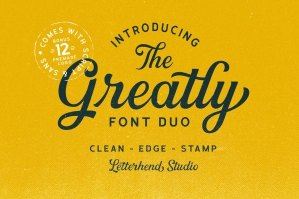 Greatly-Font-Duo-and-Logo-Templates-cover