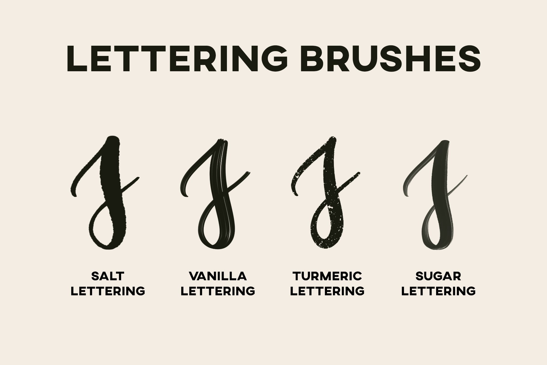 Hand Lettering Brushes For Procreate
