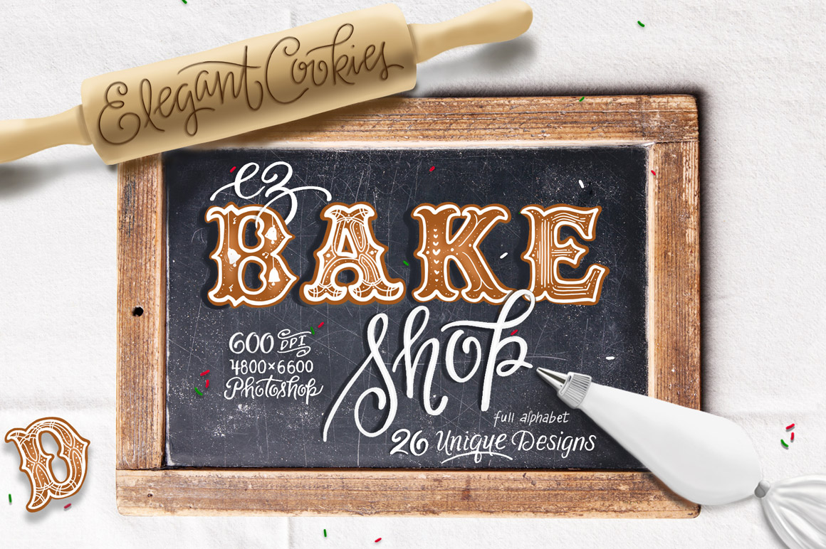 Handcrafted illustrations & letterforms