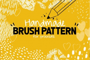 Handmade-Brush-Pattern-For-Procreate-cover