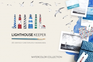 Lighthouse-Keeper-Marine-Watercolor-Collection-cover