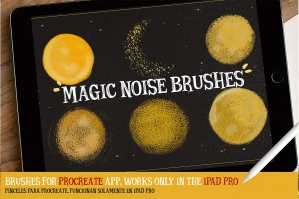 Magic Noise Brushes For Procreate