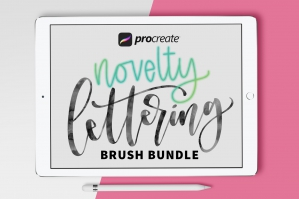 Pack-Of-10-Procreate-Brushes-Novelty-cover
