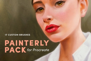 Painterly Pack – Procreate Brushes