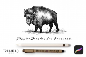 Procreate-Stipple-Brush-Set-cover