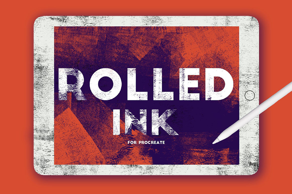 Rolled Ink Brushes