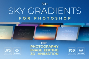 Sky-Gradients-For-Photoshop-Sky-Overlays-cover