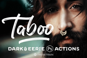 Taboo-Dark-Fantasy-Actions-for-Photoshop-cover