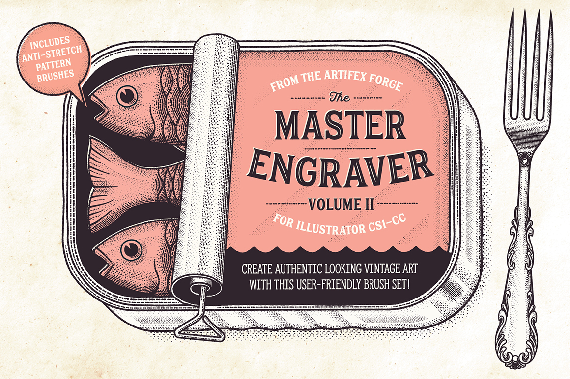 The Master Engraver - Brushes
