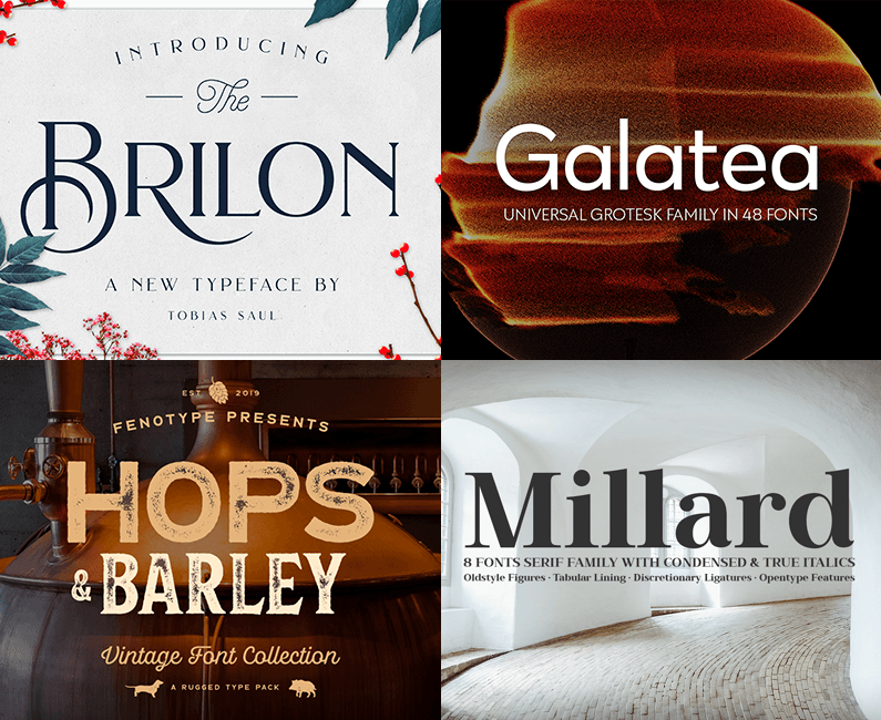 The Font Lover's Versatile Library