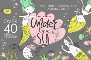 Under The Sea Graphic Kit