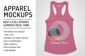 Women-Ideal-Racerback-Tank-Mockups-cover