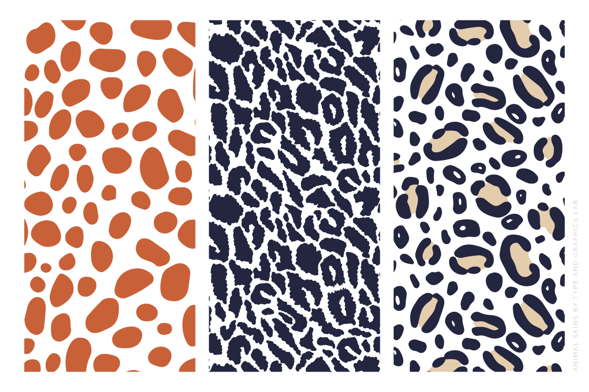 12 Animal Skin Patterns