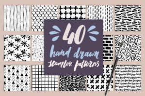 40-Hand-Drawn-Seamless-Patterns-cover