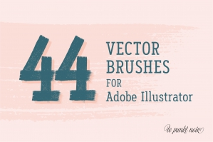 44 Vector Illustrator Brushes