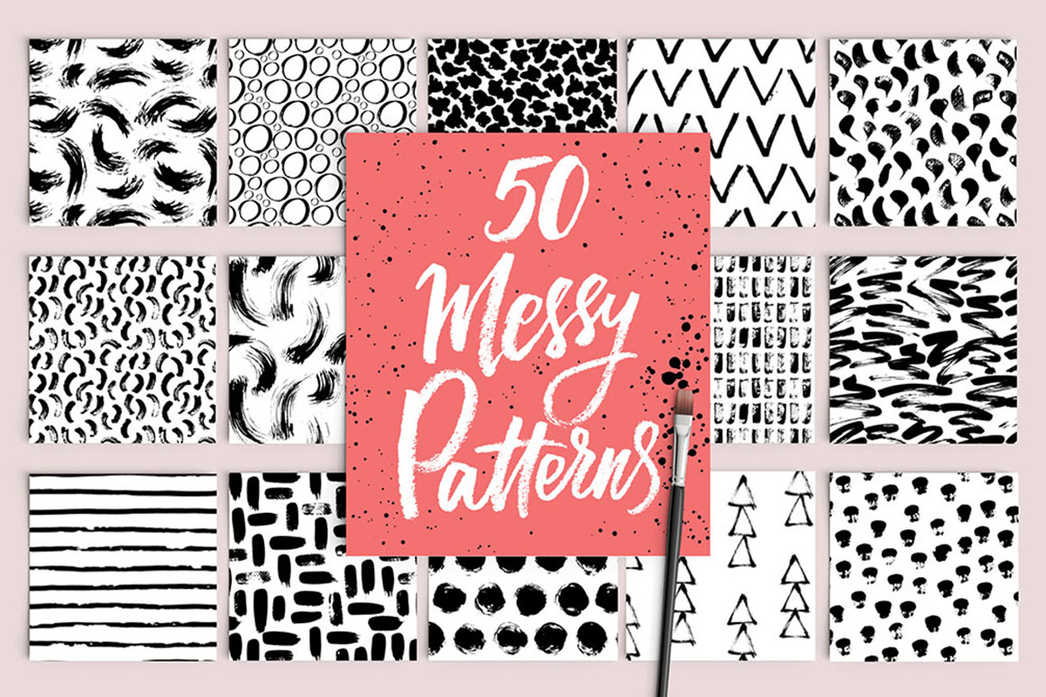 50 Messy Patterns
