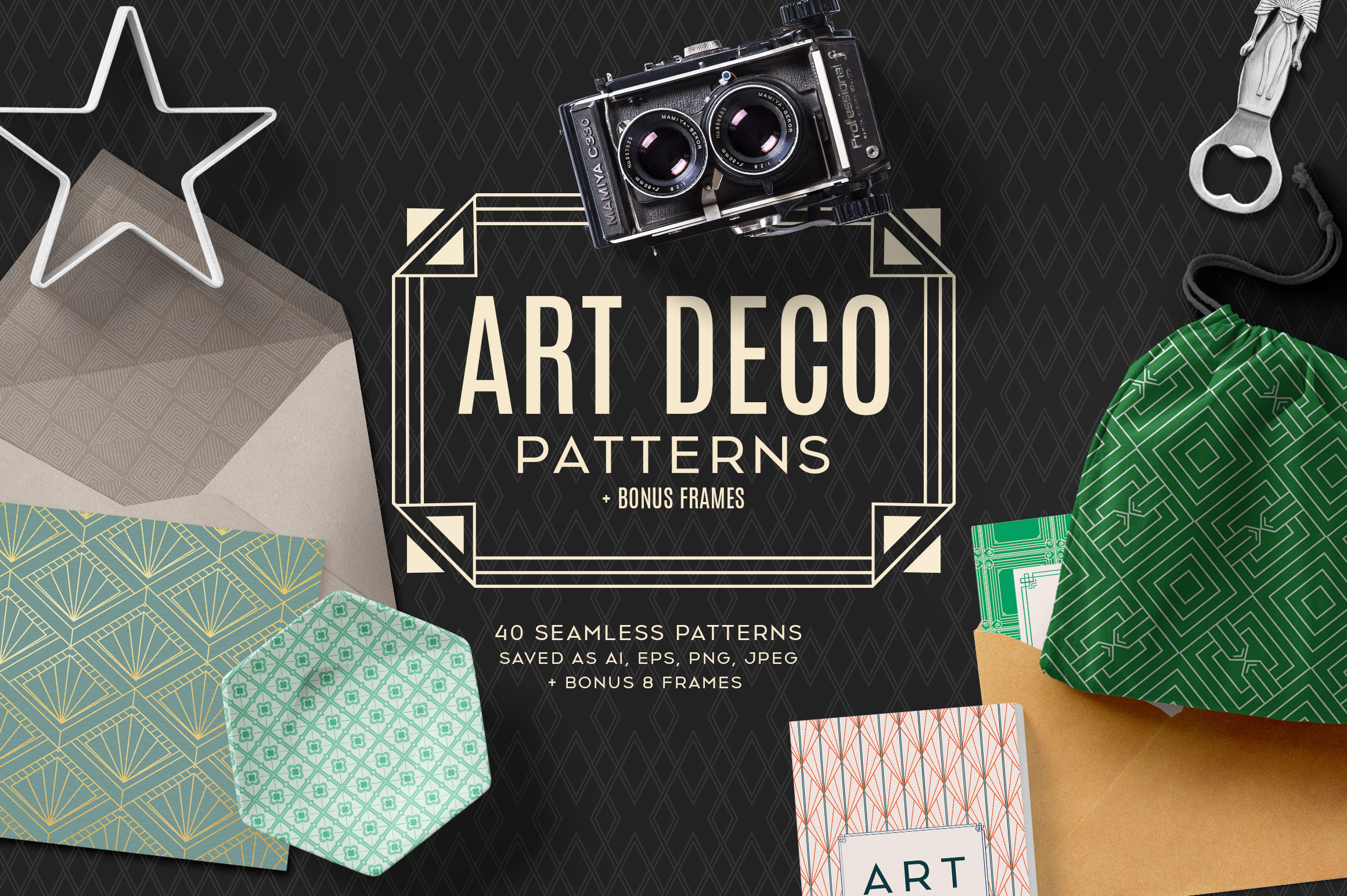 Art Deco Pattern Collections