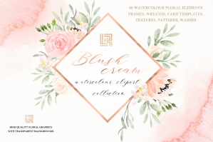 Blush-Cream-Watercolor-Flowers-Clipart-cover